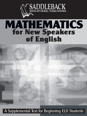 cover image of Mathematics for New Speakers of English Teacher's Resource