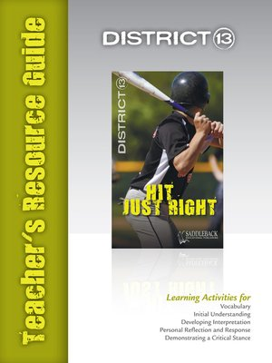 cover image of Hit Just Right Teacher's Resource Guide