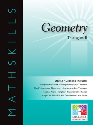cover image of Geometry: Triangles 2