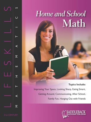 cover image of Home & School Math