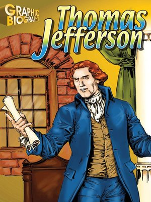 cover image of Thomas Jefferson Graphic Biography