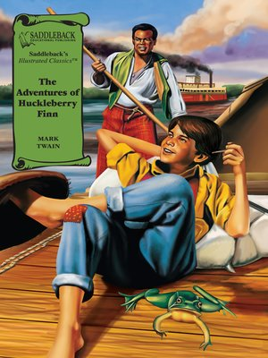 cover image of The Adventures of Huckleberry Finn Graphic Novel