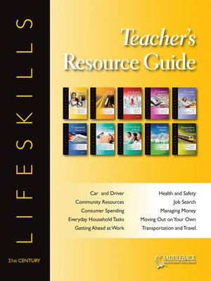 cover image of Lifeskills Teacher's Resource Guide