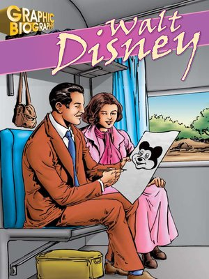 cover image of Walt Disney Graphic Biography