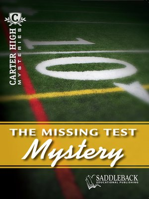 cover image of Missing Test Mystery