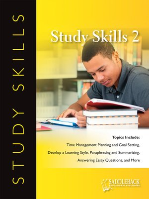 cover image of Study Skills: Textbooks: Table of Contents