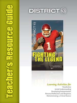 cover image of Fighting the Legend Teacher's Resource Guide