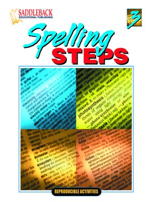 cover image of Spelling Steps 3