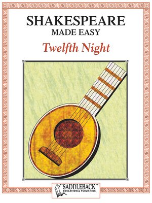 cover image of Twelfth Night, Shakespeare Made Easy
