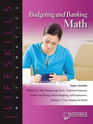 cover image of Budgeting & Banking Math