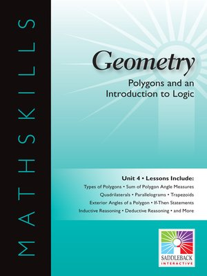 cover image of Geometry: Polygons and an Introduction to Logic