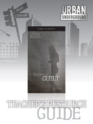 cover image of Shadows of Guilt Teacher's Resource Guide