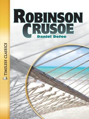 cover image of Robinson Crusoe