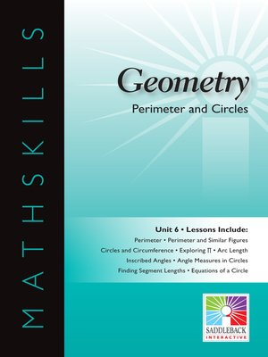 cover image of Geometry: Perimeter and Circles