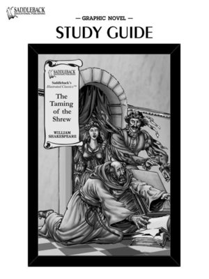 cover image of The Taming of the Shrew Study Guide