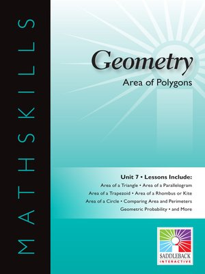 cover image of Geometry: Area of Polygons