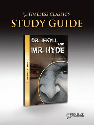 """Study guide """"dr jekyll and mr hyde""""."""