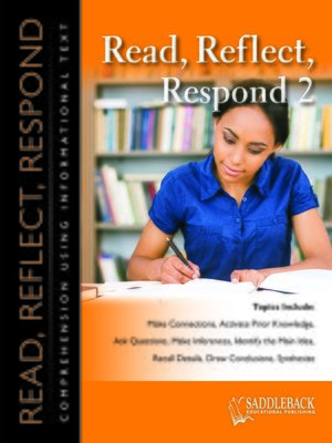 cover image of Read Reflect Respond 2