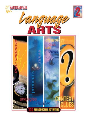 cover image of Language Arts 2