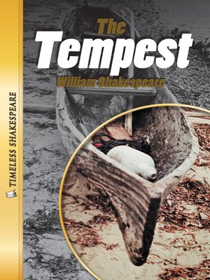 cover image of The Tempest Paperback Book