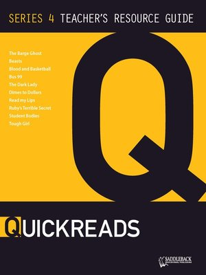 cover image of QuickReads Series 4 Teacher's Guide