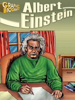 cover image of Albert Einstein Graphic Biography