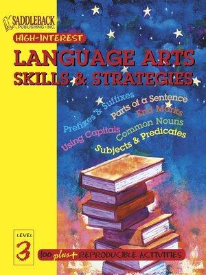 cover image of English-Language Arts Skills & Strategies Level 3