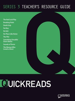 cover image of QuickReads Series 3 Teacher's Guide