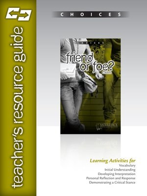 cover image of Friend or Foe? Teacher Resource Guide