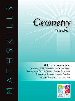 cover image of Geometry: Triangles 1