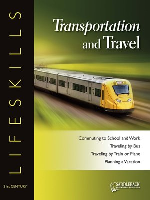 cover image of Transportation & Travel