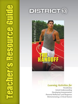 cover image of The Handoff Teacher's Resource Guide