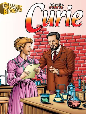 cover image of Marie Curie Graphic Biography
