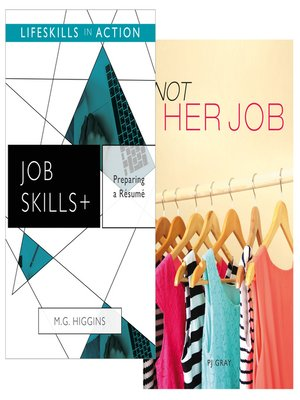 cover image of Preparing a Resume/ Not Her Job (Job Skills)