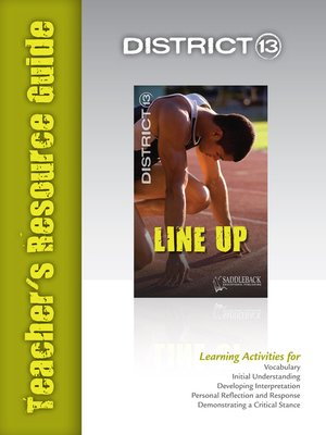 cover image of Line Up Teacher's Resource Guide