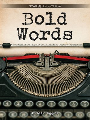cover image of Bold Words [4]