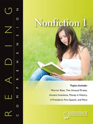 cover image of Reading Comprehension Nonfiction: A Story Behind Every Word