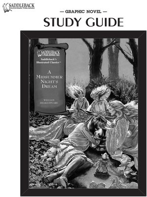 cover image of A Midsummer Night's Dream Study Guide
