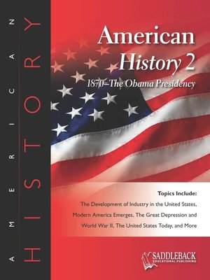 cover image of American History 2