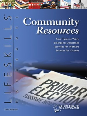 cover image of Community Resources: Handbook