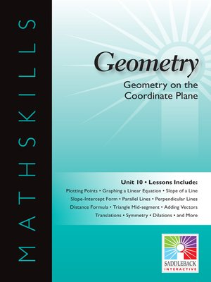 cover image of Geometry: Geometry on the Coordinate Plane