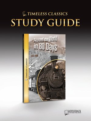 cover image of Around the World in 80 Days Study Guide