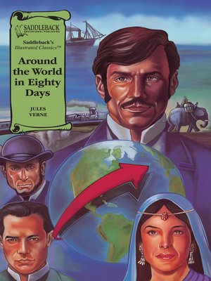 cover image of Around the World in Eighty Days