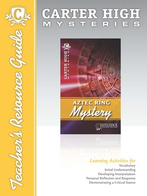 cover image of Aztec Ring Mystery Teacher's Resource Guide