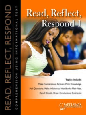 cover image of Read Reflect Respond 1