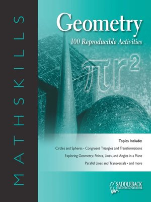 cover image of Mathskills Geometry