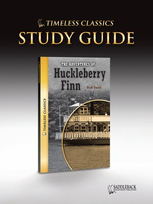 cover image of The Adventures of Huckleberry Finn Study Guide