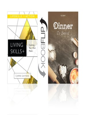 cover image of Cooking Your Own Meals/Dinner Is Served (Living Skills)