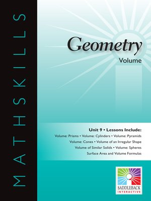 cover image of Geometry: Volume