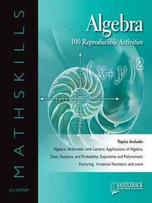 cover image of Mathskills Algebra